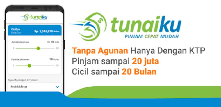aplikasi pinjaman online OJK Tunaiku